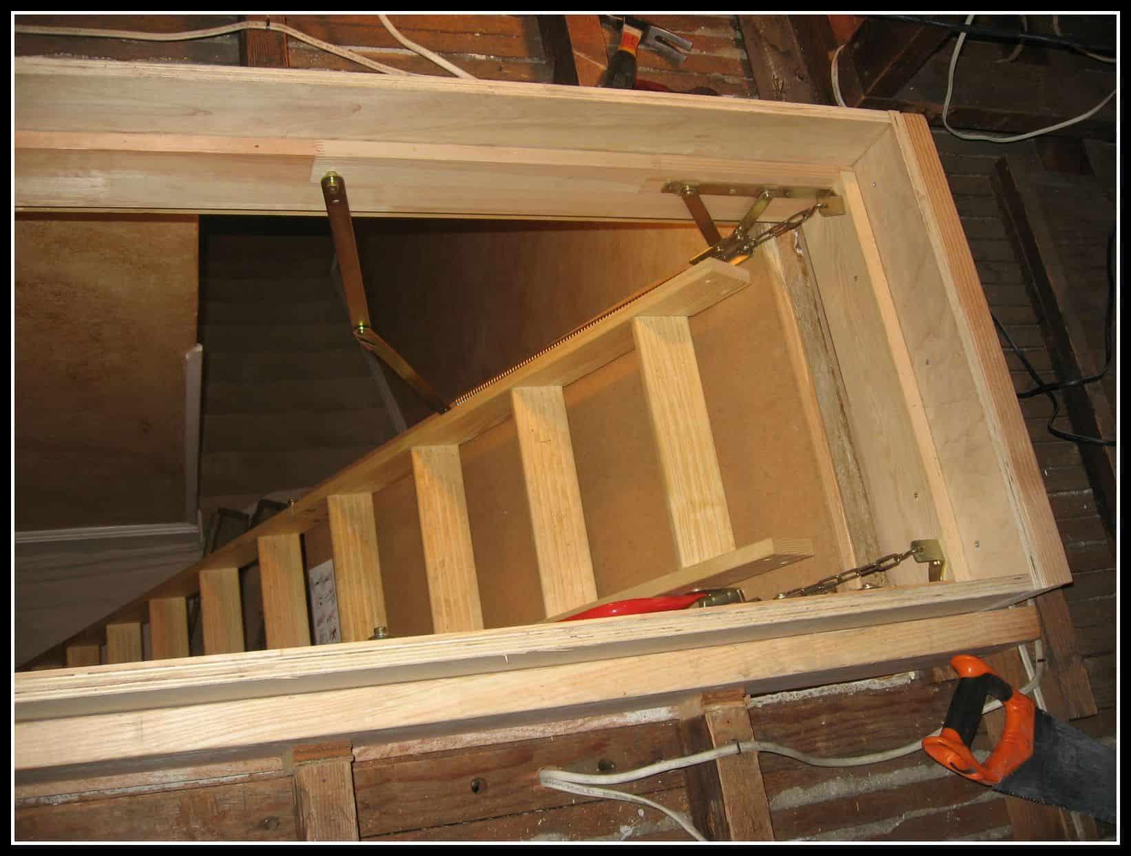 Attic Ladder Install Orange County The Attic Doctors