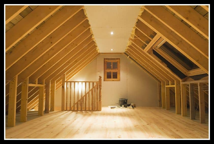 Attic Framing Remodel Orange County
